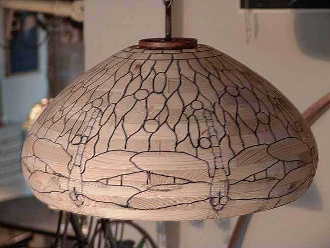 Tiffany lamp making: Designs of Tiffany Studios New York