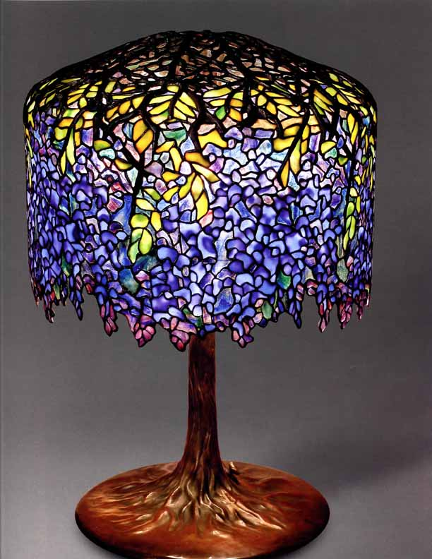 Professional manufacturing of Tiffany lamps