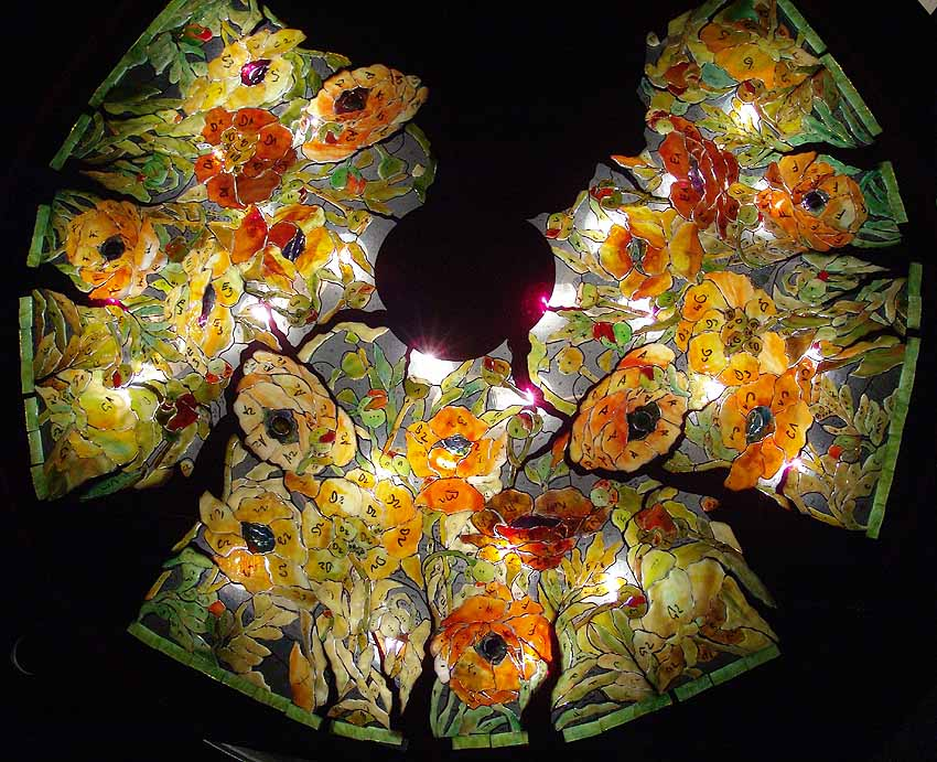 News on Tiffany lamp making: Designs of Tiffany Studios